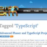TypeScriptでJavaScriptゲームエンジンPhaserを使うときの参考資料