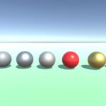 Unity5でつやつやでメタリックな光沢のある金の玉を作る方法