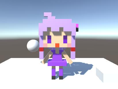 Blenderで結月ゆかりにアニメーションをつけてみました。