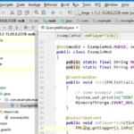 マインクラフトのMod開発環境をバッチファイルなしでIntelliJで用意する方法