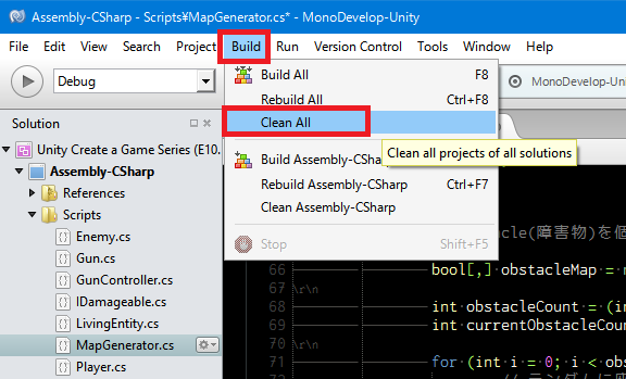 Unity5のMonoDevelopでコピペできなくなった場合の解決方法