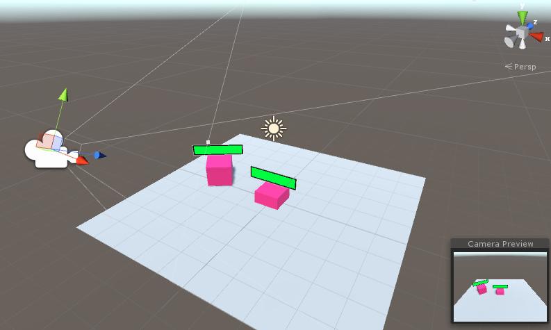Unity5でビルボードに対応したヘルスバーを作成する