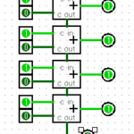 Implementing a One Address CPU in LogisimのCPU実装を調べる1ALU